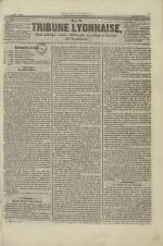 La Tribune lyonnaise, N°3