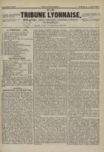 La Tribune lyonnaise, N°4
