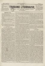 La Tribune lyonnaise, N°7