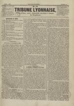 La Tribune lyonnaise, N°6