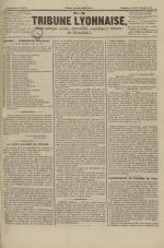 La Tribune lyonnaise, N°8