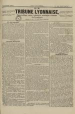 La Tribune lyonnaise, N°9