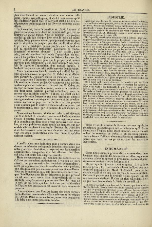 Affichage en mode lecture de la page