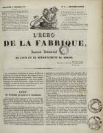 L'Echo de la fabrique, N°16, pp. 1