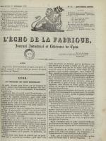 L'Echo de la fabrique, N°39, pp. 1