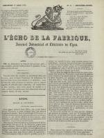 L'Echo de la fabrique, N°44, pp. 1