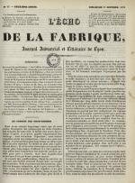 L'Echo de la fabrique, N°49, pp. 1