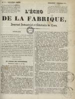L'Echo de la fabrique, N°50, pp. 1