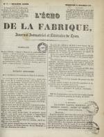 L'Echo de la fabrique, N°52, pp. 1