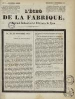 L'Echo de la fabrique, N°57, pp. 1
