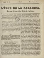 L'Echo de la fabrique, N°31, pp. 1