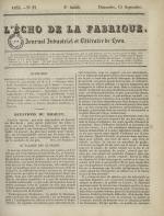 L'Echo de la fabrique, N°37, pp. 1