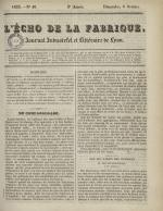 L'Echo de la fabrique, N°40, pp. 1