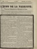 L'Echo de la fabrique, N°47, pp. 1