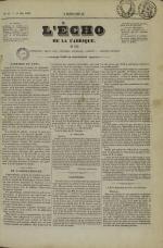L'Echo de la fabrique de 1841, N°17