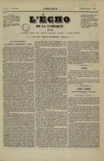 L'Echo de la fabrique de 1841, N°3