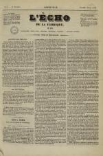 L'Echo de la fabrique de 1841, N°5
