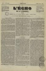 L'Echo de la fabrique de 1841, N°6