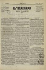 L'Echo de la fabrique de 1841, N°7