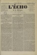 L'Echo de la fabrique de 1841, N°85