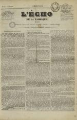 L'Echo de la fabrique de 1841, N°9