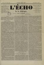 L'Echo de la fabrique de 1841, N°88