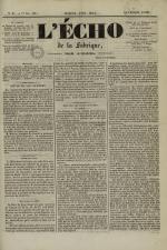 L'Echo de la fabrique de 1841, N°87