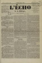 L'Echo de la fabrique de 1841, N°91