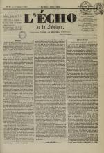 L'Echo de la fabrique de 1841, N°90