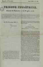 Tribune prolétaire, N°10