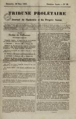 Tribune prolétaire, N°12, pp. 1