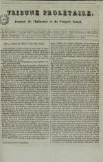 Tribune prolétaire, N°13, pp. 1