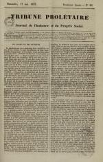 Tribune prolétaire, N°20, pp. 1