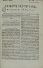 Tribune prolétaire, N°3