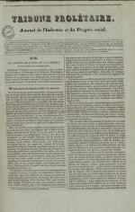 Tribune prolétaire, N°4