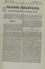 Tribune prolétaire, N°6