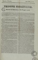 Tribune prolétaire, N°8