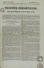 Tribune prolétaire, N°7, pp. 1
