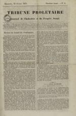 Tribune prolétaire, N°8, pp. 1
