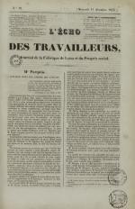 L'Echo des travailleurs, N°12, pp. 1