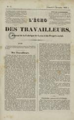 L'Echo des travailleurs, N°3, pp. 1