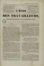 L'Echo des travailleurs, N°8, pp. 1
