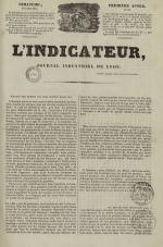 L'Indicateur, N°32, pp. 1