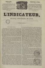 L'Indicateur, N°35, pp. 1