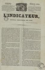 L'Indicateur, N°6