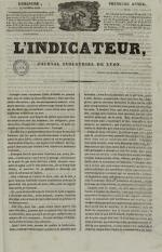 L'Indicateur, N°7, pp. 1