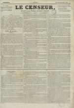 Le Censeur : journal de Lyon, politique, industriel et littéraire, N°2