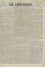 Le Censeur : journal de Lyon, politique, industriel et littéraire, N°3