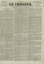 Le Censeur : journal de Lyon, politique, industriel et littéraire, N°6
