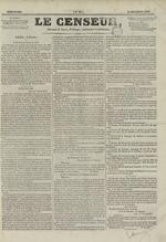 Le Censeur : journal de Lyon, politique, industriel et littéraire, N°67